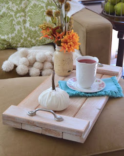 Make A Rustic Wooden Tray