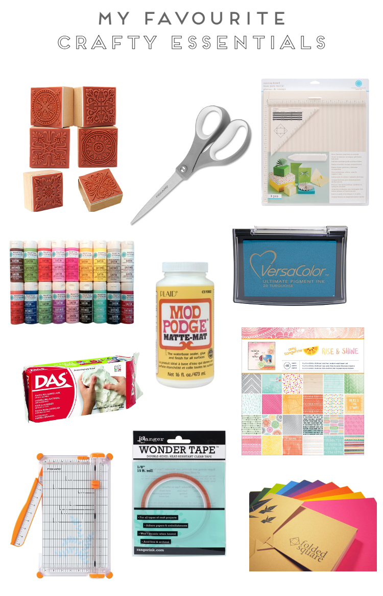 MY FAVOURITE CRAFTY ESSENTIALS