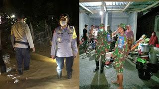 Montase TNI-Polri turun ke lokasi banjir