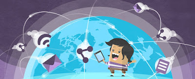 World Wide Web bao gồm khối lượng thông tin toàn cầu mà bất kì ai cũng có thể xem trên Internet