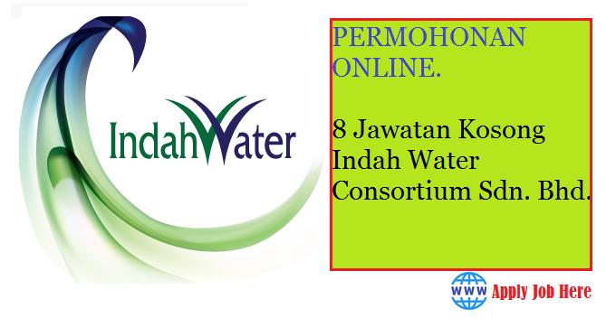 8 Jawatan Kosong Indah Water Konsortium Sdn Bhd Db Job Asia Terbaru Jawatan Dibuka