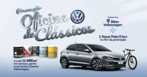 Promoção Volkswagen Oficina de Clássicos Participar Prêmios