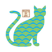 Craftsy shop cat applique
