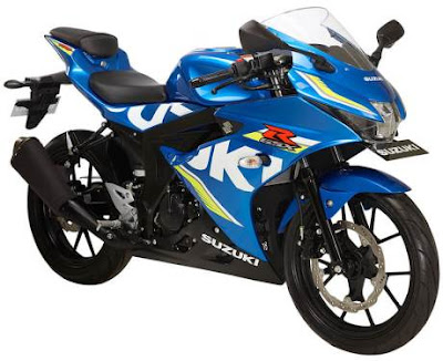Suzuki GSX-R150 DOHC Engine