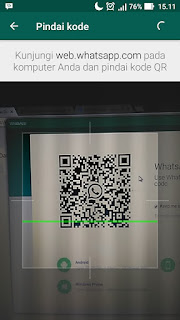Scan Barcode WhatsApp