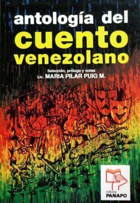 Carátula de Antología del Cuento Venezolano (María Pilar Puig - 1994)