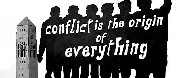 Conflict is the origin of everything