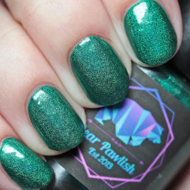 Bear Pawlish Emerald Lagoons