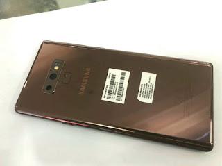 Hape Seken Samsung Galaxy Note 9 Note9 RAM 6GB ROM 128GB 6/128 Mulus Normal
