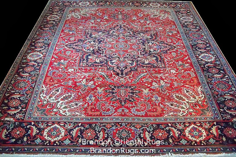 This Is A New One Of Kind Persian Heriz Rug Post Ic Revolution Production 1994 1999 Embargo Pre 2017