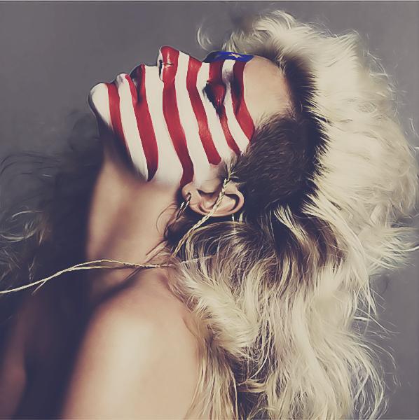 Foto Bugil Skandal Kesha Ratuliu: Kesha American Flag