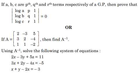 ncert solution class 12th math Question 36