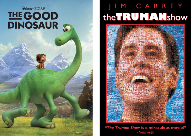 The Good Dinosaur The Truman Show