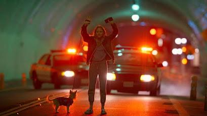 Starring Maika Monroe Dane DeHaan Avan Jogia Veena Sud, Thriller, HOrror, Rideshare, Los Angeles, Quibi