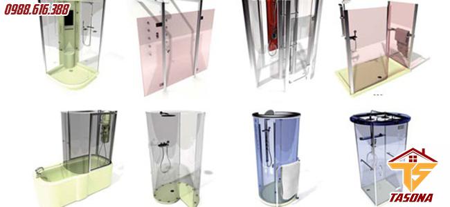 Những mẫu nhà tắm để bạn dễ lựa chọn