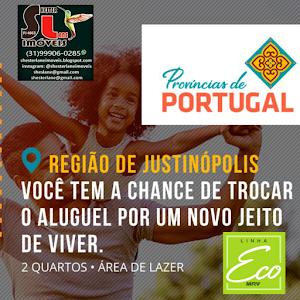 Évora Residencial Portugal  na região do Justinópolis