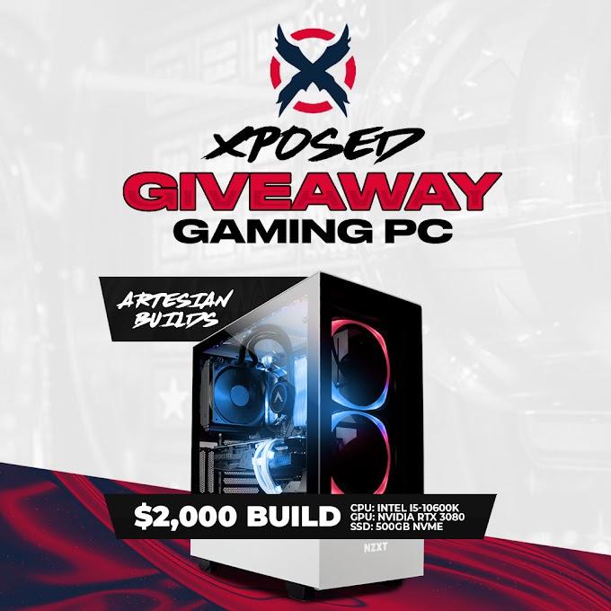 Sorteio de um PC Gamer com RTX 3080!