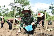 Pangdam XIII Merdeka Hadiri Acara Pencanangan Kampung Tangguh Nusantara