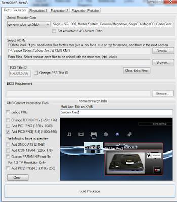 Πως να τρέξετε παλιά παιχνίδια (roms) στο PS3 3