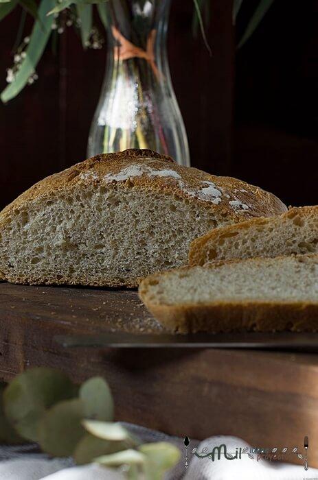 preparacion paso a paso pan en cazuela