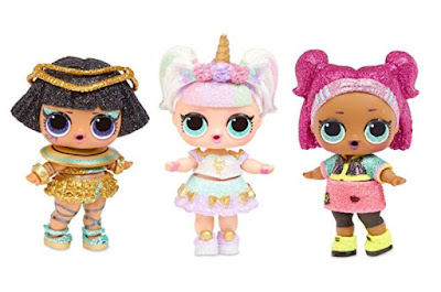 Pharaon Babe, Unicorn and V.R.Q.T. L.O.L. Sparkle dolls 2019