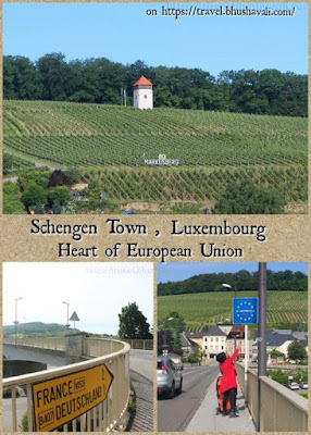 Day trip from Luxembourg city to Schengen