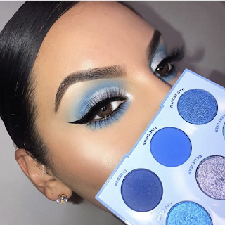 blue makeup palette - wedding ideas blog - wedding planning services in Philadelphia PA - K'Mich Weddings