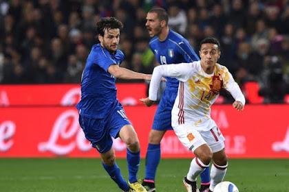 Italia Tak Gentar Hadapi Spanyol Sang Juara Bertahan !