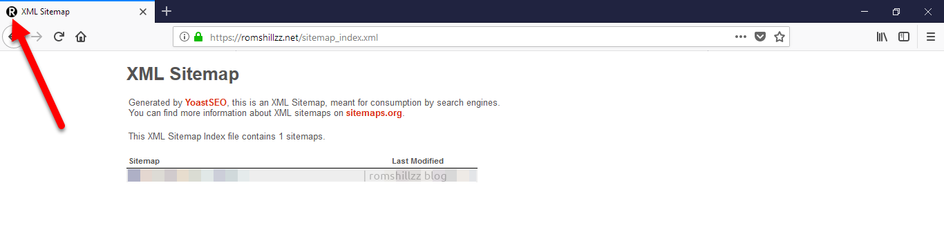 how to show your favicon on your wordpress xml sitemap romshillzz