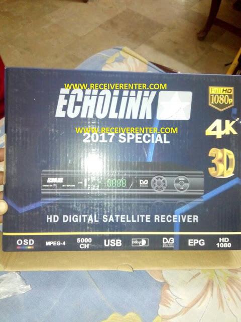 ECHOLINK 2017 SPECIAL HD RECEIVER CCCAM OPTION