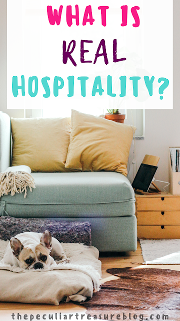 What is real hospitality?