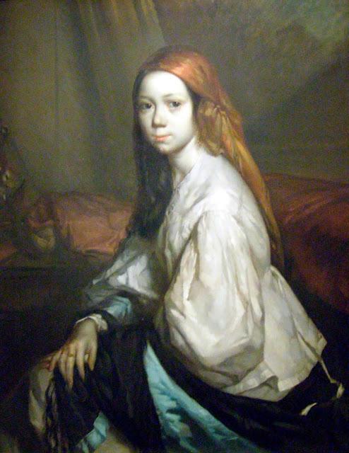 Жан Франсуа Милле - Портрет Паулины Оно. 1844
