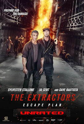 Escape Plan The Extractors UNRATED 2019 DVD R1 NTSC Latino