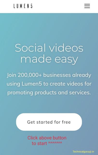 convert blog posts to video.