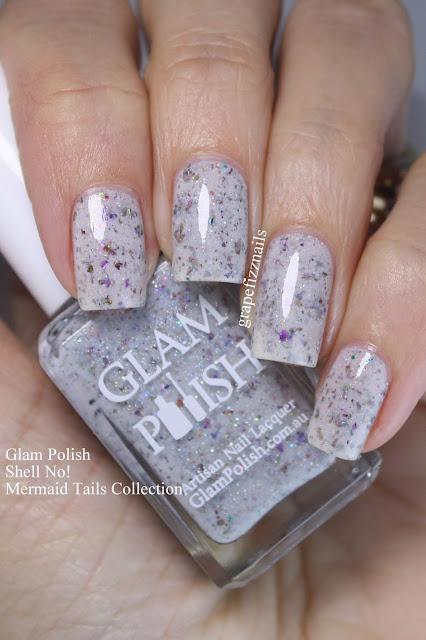 glam polish shell no!