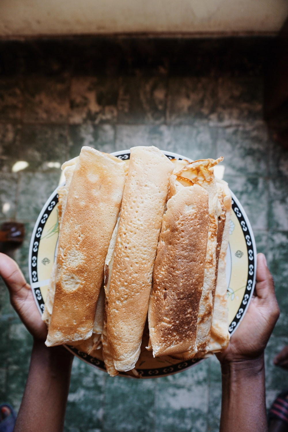 For the Sweet Tooth: Old School Crêpes. Read it on www.itsalamb.com #Travel #Food #Lubumbashi #DemocraticRepublicofCongo