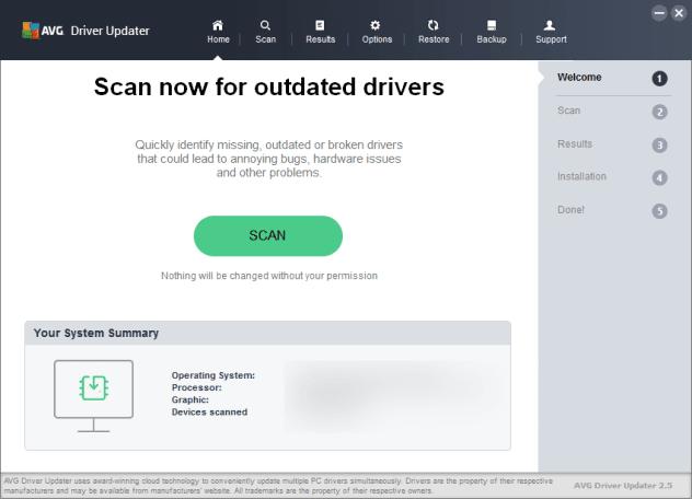 AVG Driver Updater 2.5 Full Crack