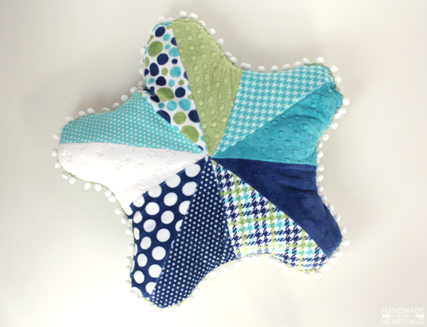 Sewing Starfish Pillow Tutorial and Free Pattern