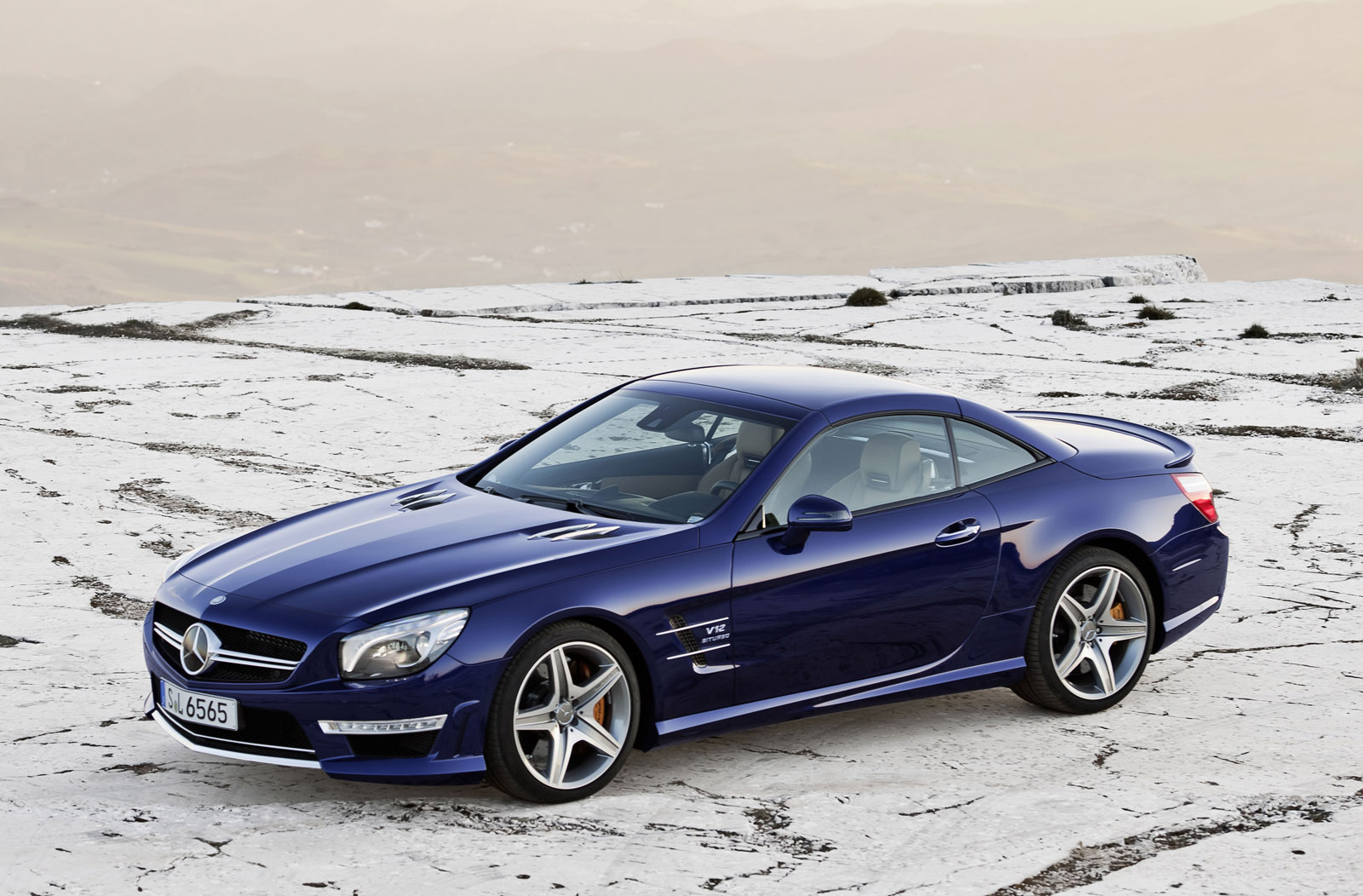 sport cars  mercedes benz sl65 amg hd wallpapers 2013