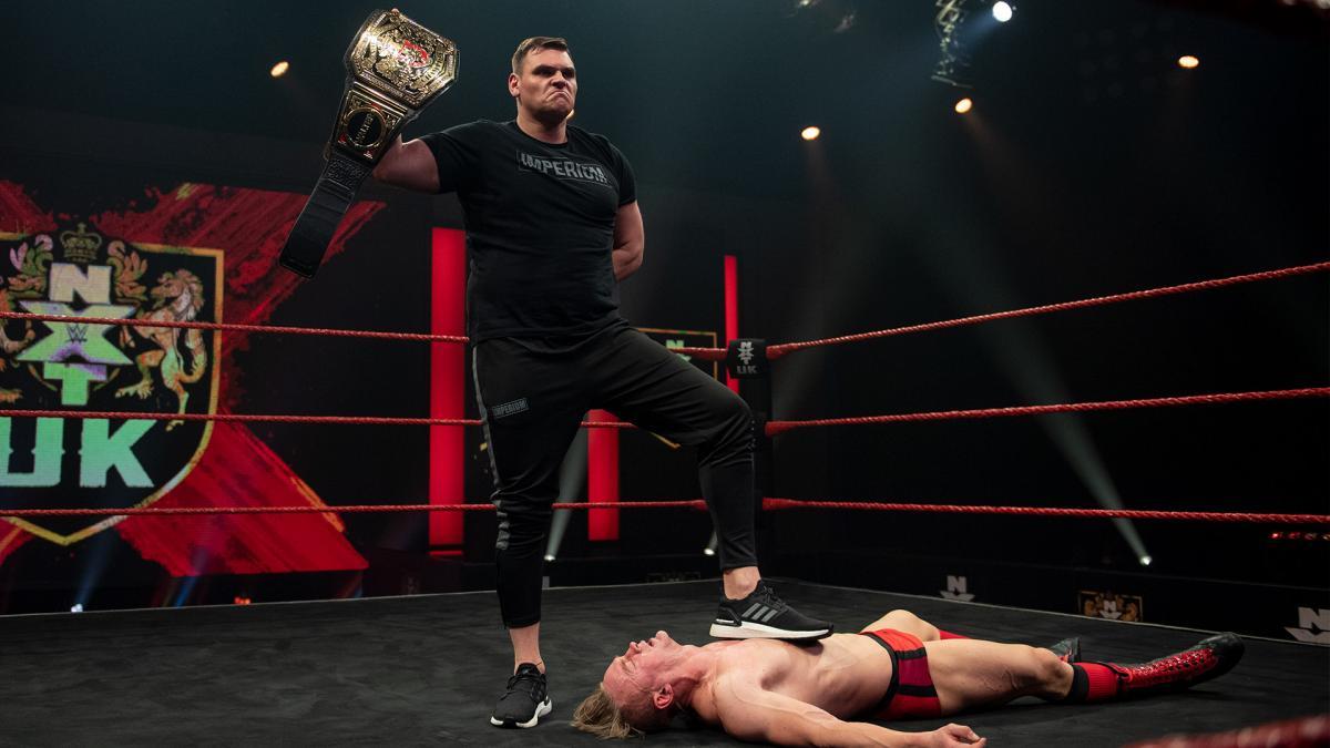 Walter colocará novamente seu NXT UK Title em jogo contra Ilja Dragunov