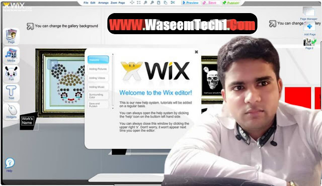 Bast Freelancing Skill How To Create A Website Free Of Cost Wix Hindi [Waseem tech1]