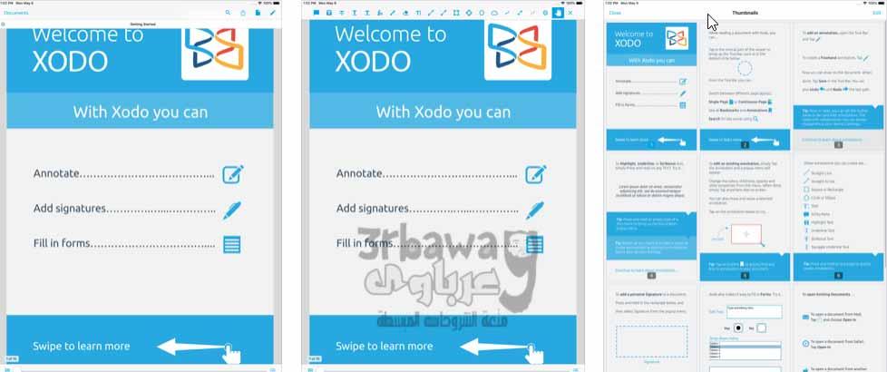 تطبيق: PDF Reader & Annotator by Xodo