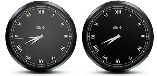 Elegant Analog Watch Face