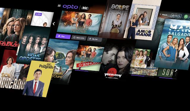 OPTO - O novo serviço de streaming da SIC