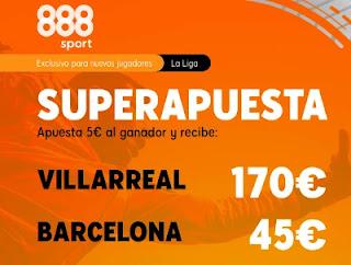 888sport superapuesta Villarreal vs Barcelona 25-4-2021