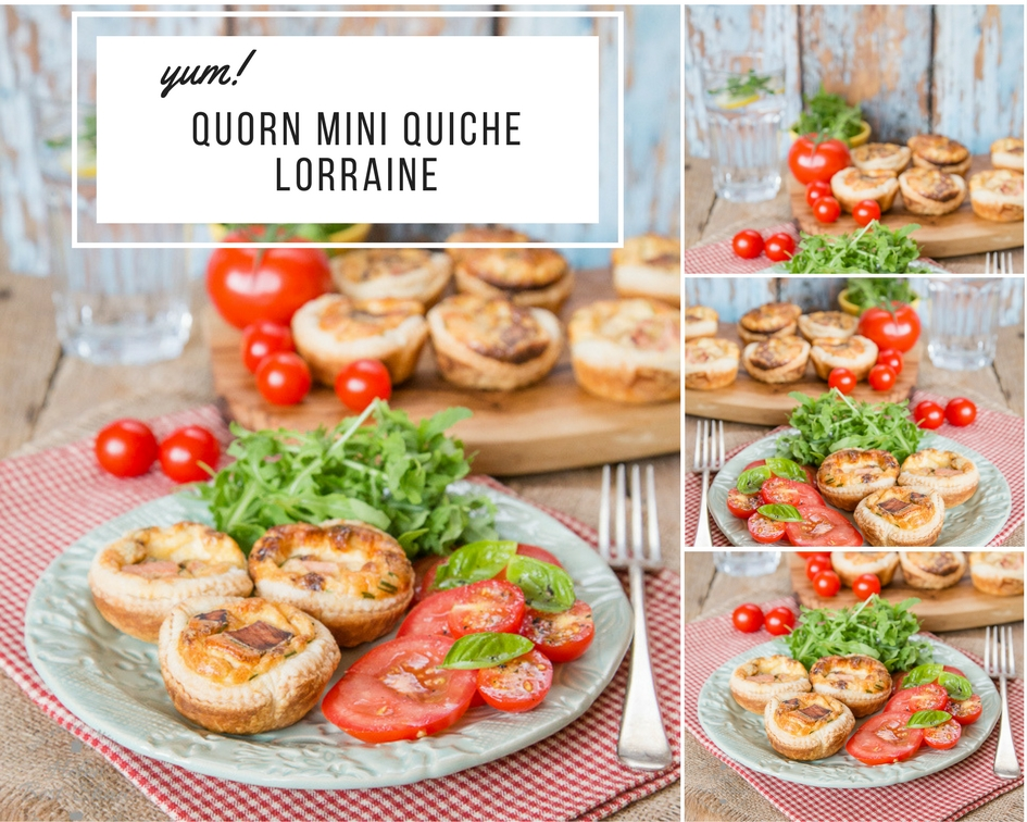 How To Make Meat Free Quorn Mini Quiche Lorraine