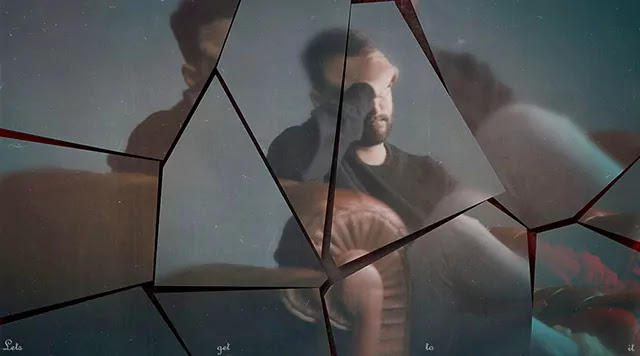 Broken Mirror - Photo template free download