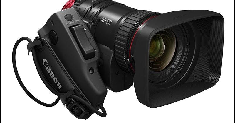 2a225f1d8 Canon med ny 18-80 T4.4 L IS servo zoom linse for Super 35 kamera ...