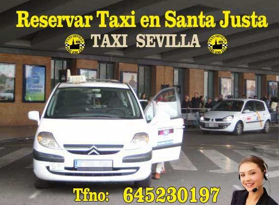 Taxi Sevilla Santa Justa
