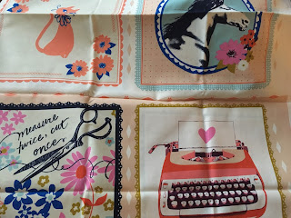 quilt panel fabric beauty shop Melody Miller Cotton and Steel